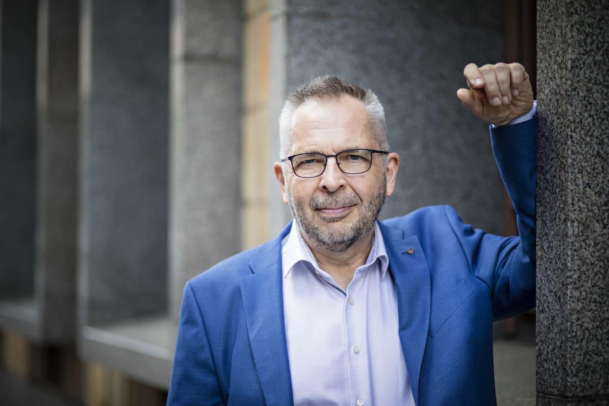 Syöpäjärjestöjen pääsihteeri Sakari Karjalainen.