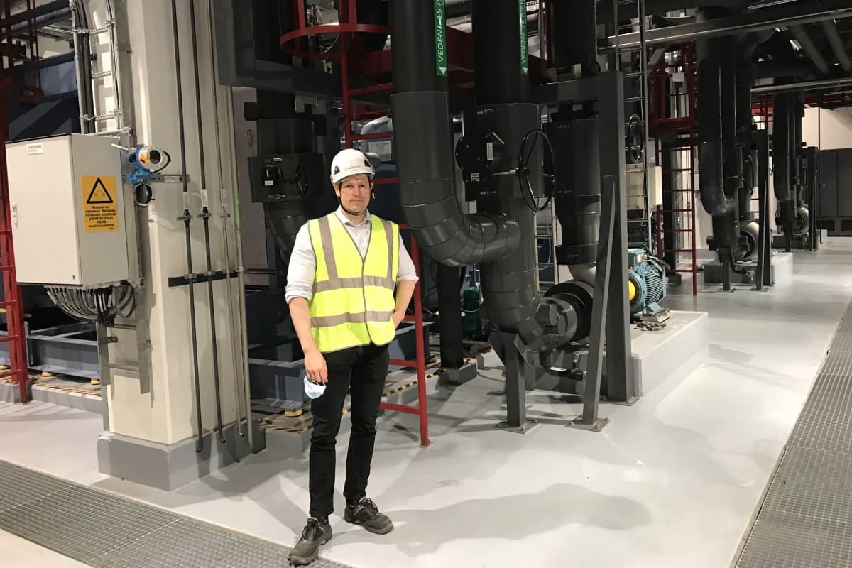 Tampereen Sähkölaitoksen myyntipäällikkö Samu Lepistö