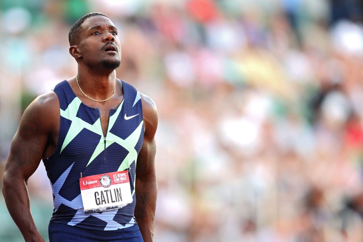 Justin Gatlin ei päässyt Tokion olympialaisiin
