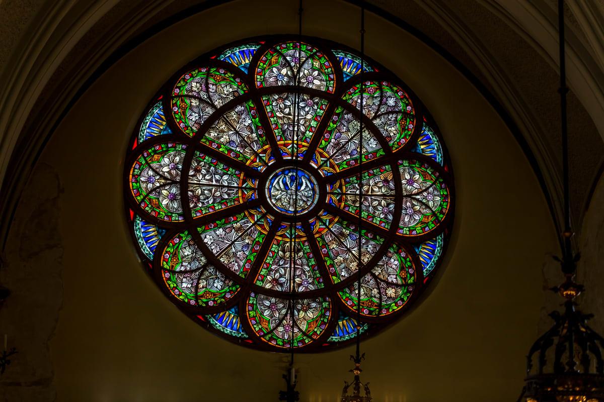 Kotkan kirkon ruusuikkuna