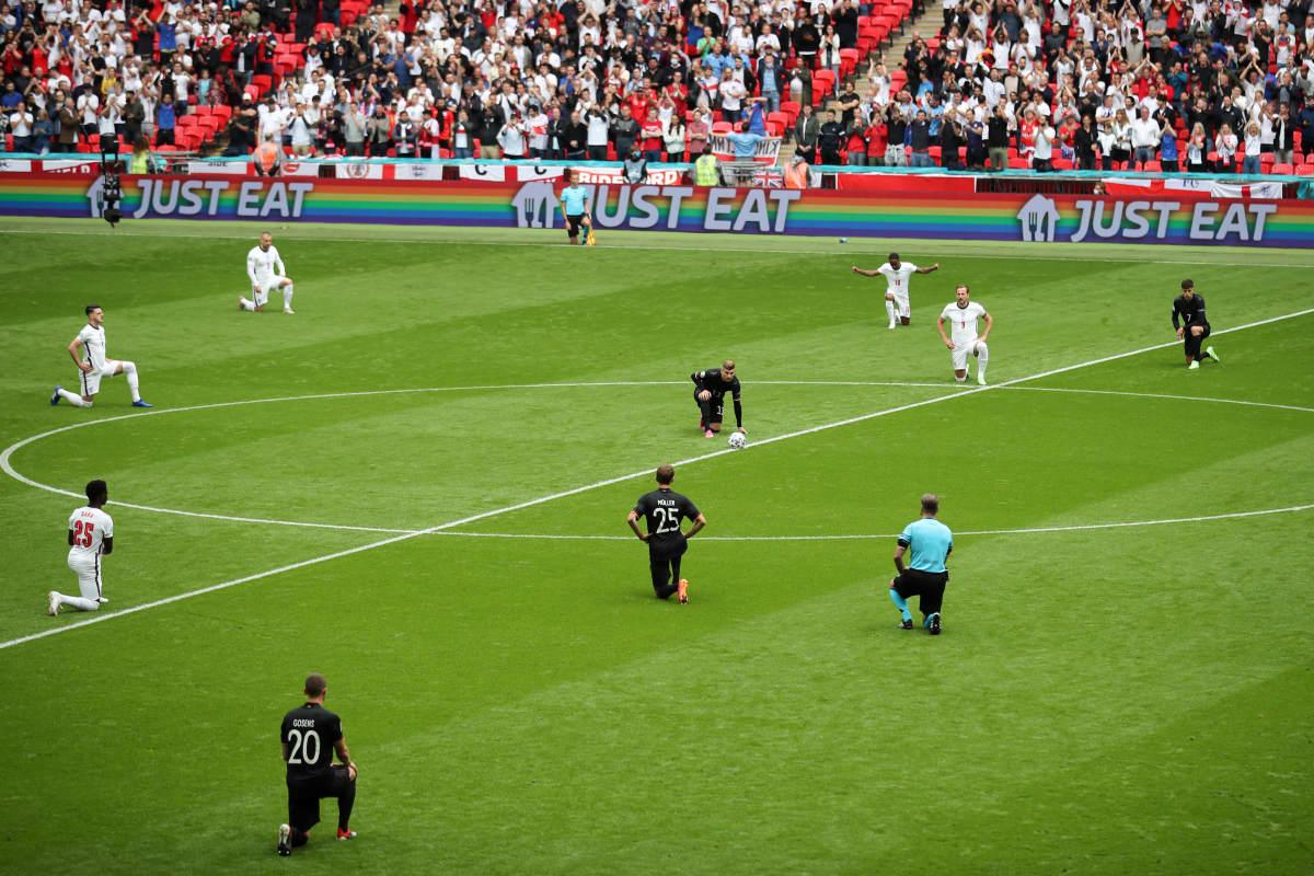 Englanti ja Saksa polvistuivat EM-kisoissa