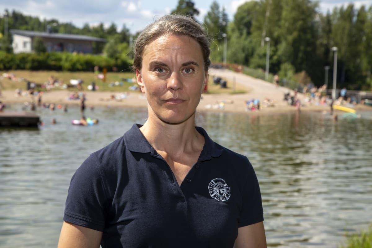 Suomen uimaopetus- ja hengenpelastusliiton toiminnanjohtaja Kristiina Heinonen