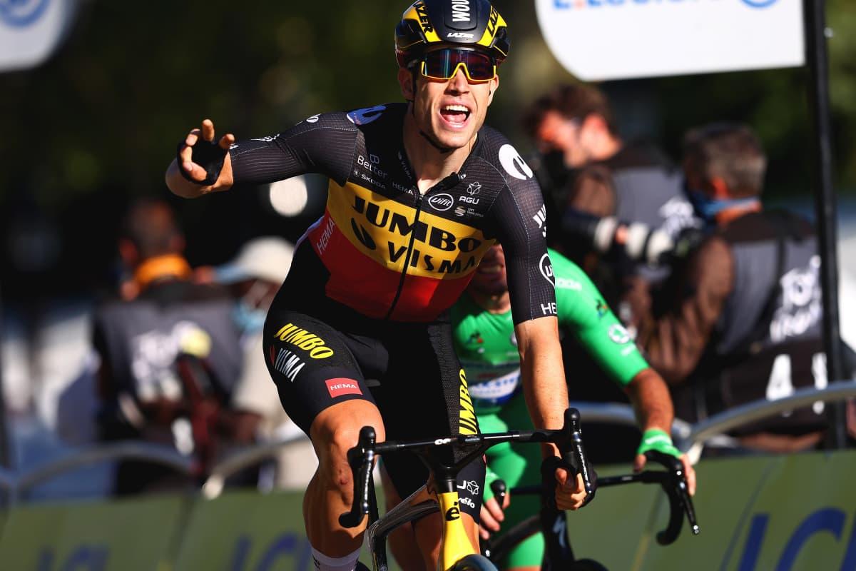 Belgialaispyöräilijä Wout van Aert.