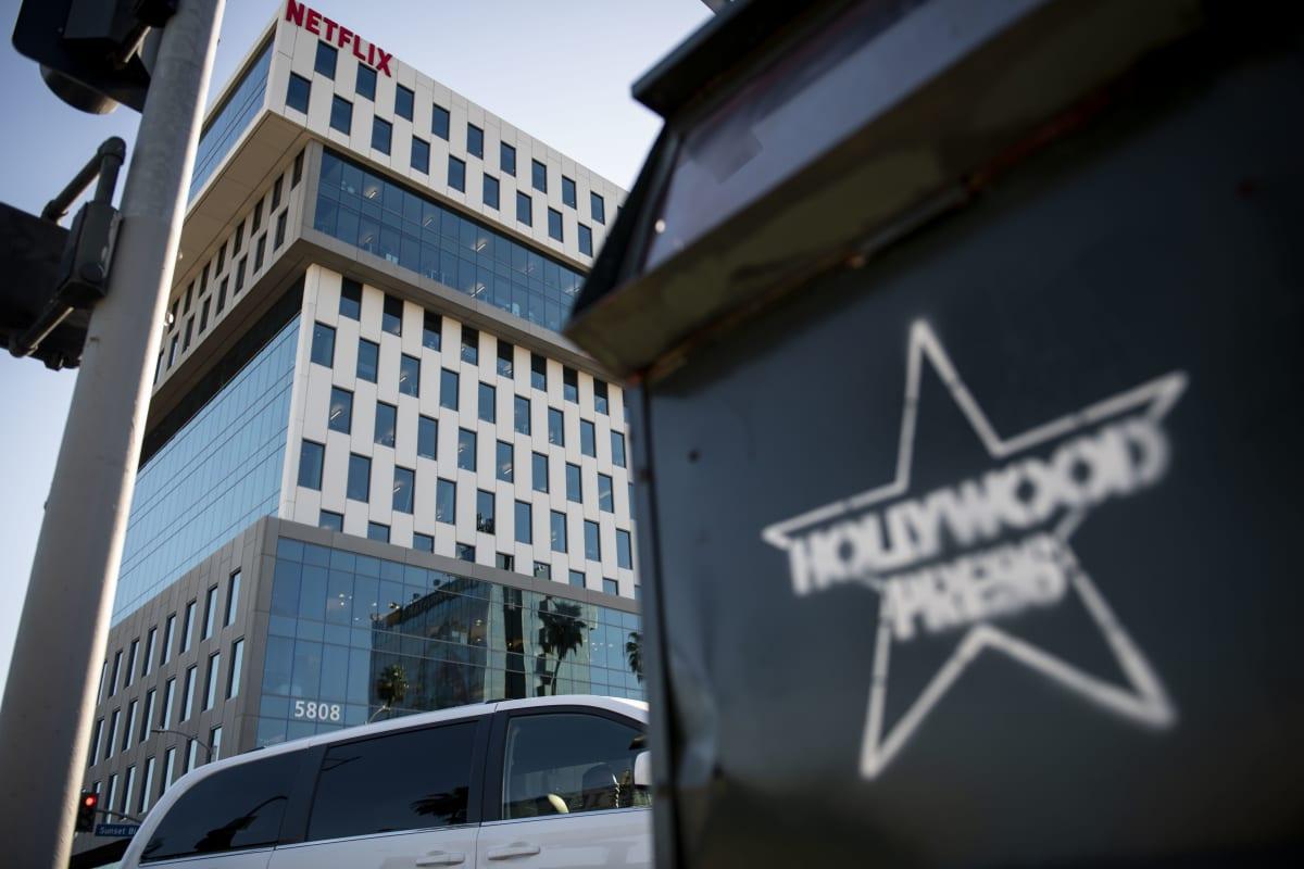 Netflixin pääkonttori Kaliforniassa.