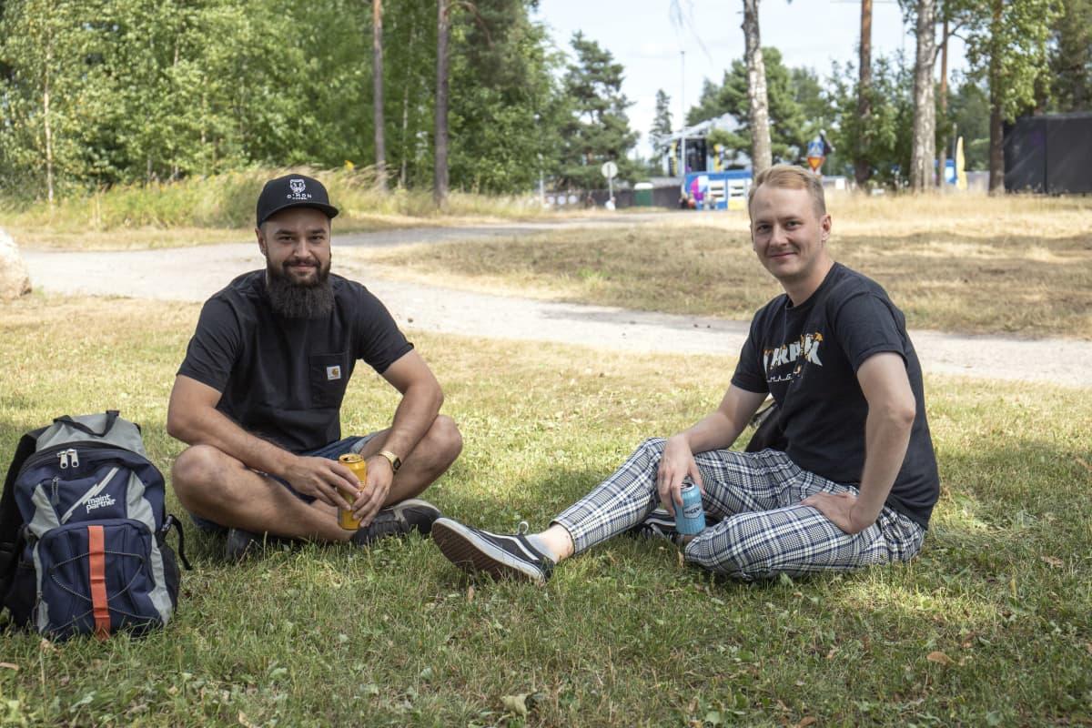 Roope Koivunen ja Eero Perälä.
