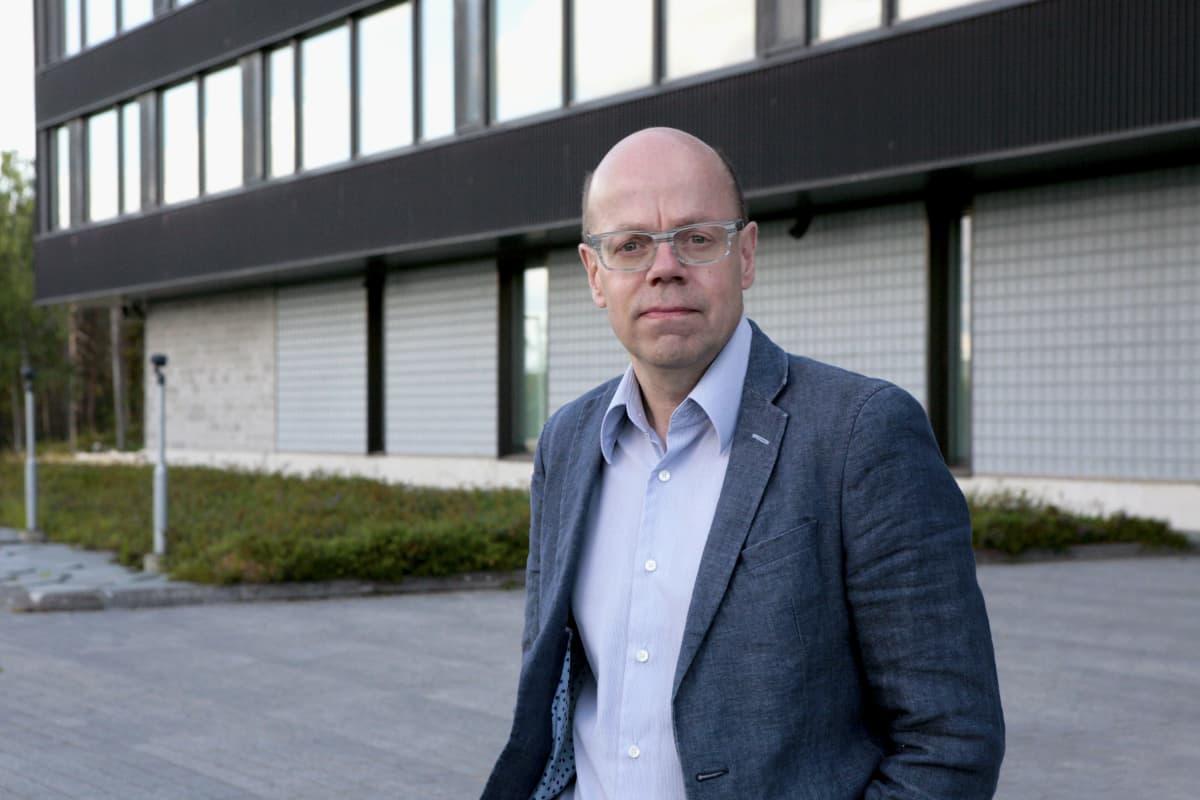 Valtion tieto- ja viestintätekniikkakeskus Valtorin asiakkuusjohtaja Jouni Mustonen
