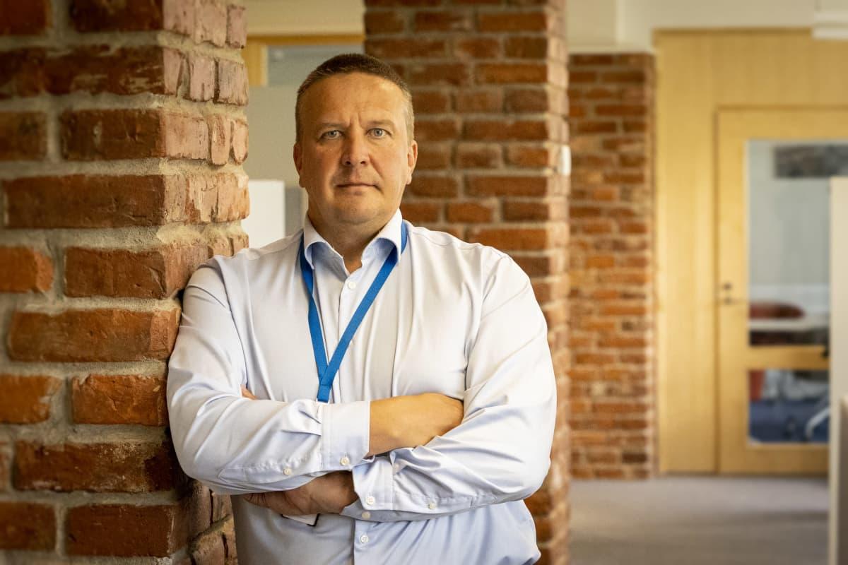 Rantalainen Oy:n johtaja Kimmo Martikainen