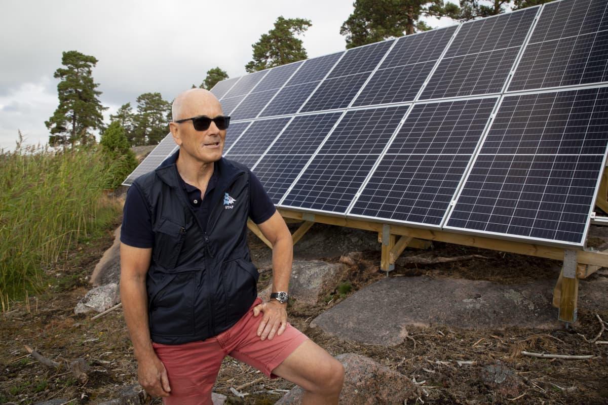 Eric von Troil  ja aurinkokennot