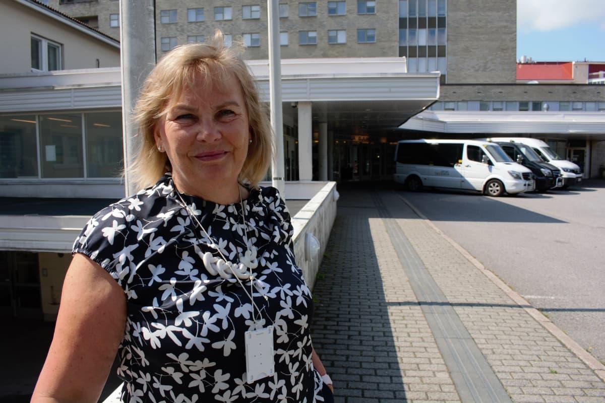 Turun avoterveydenhuollon vastuualuejohtaja Päivi-Leena Honkinen