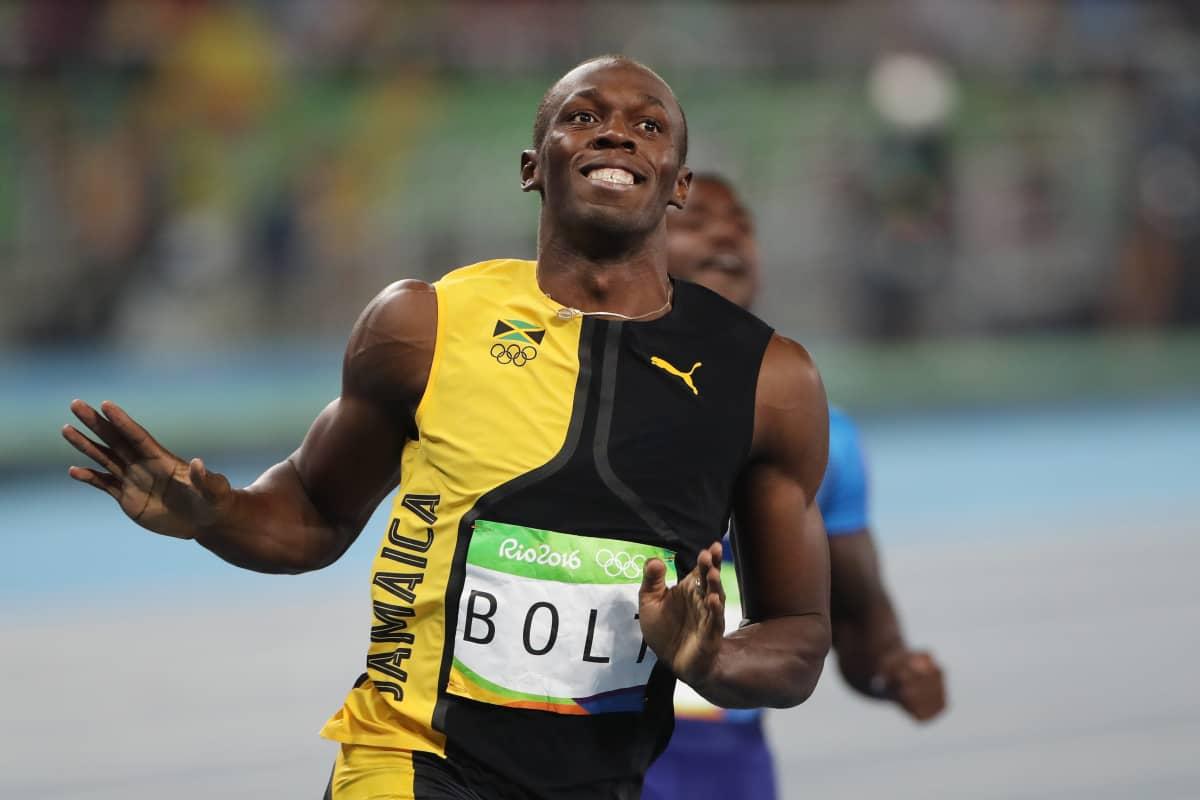 Usain Bolt voitti kultaa 100 metrillä Rion olympialaisissa.