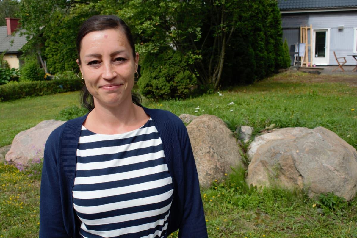 Opettaja Noora Björkman Ilpoisten koulusta Turusta