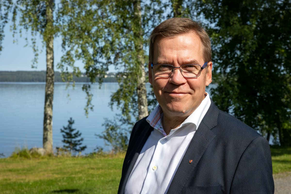 Pirkkalan kunnan pormestari Marko Jarva