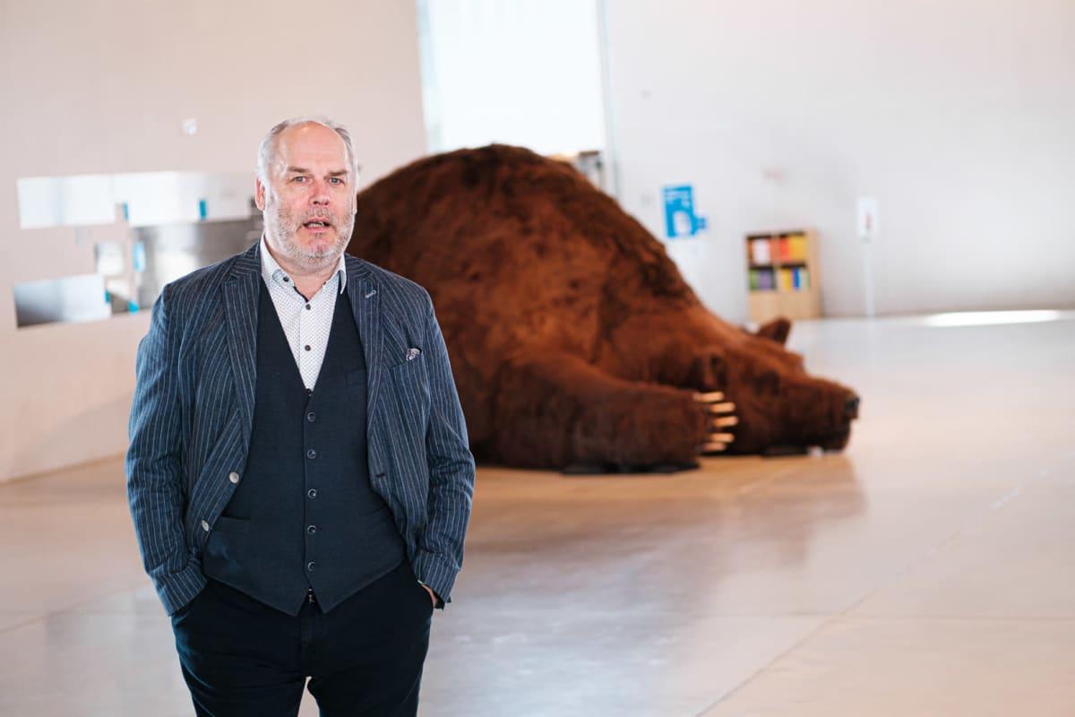 Viron kansallismuseon johtaja Alar Karis.