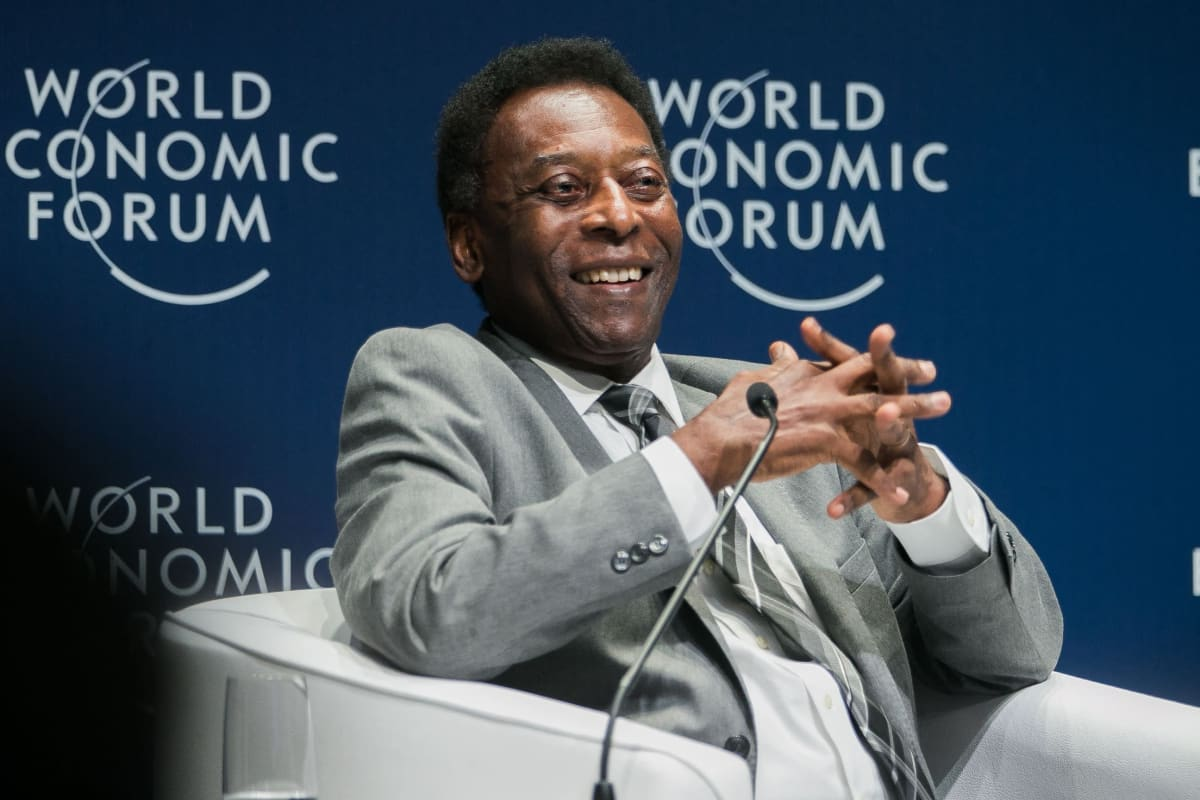 Pelé kuvattuna vuonna 2018