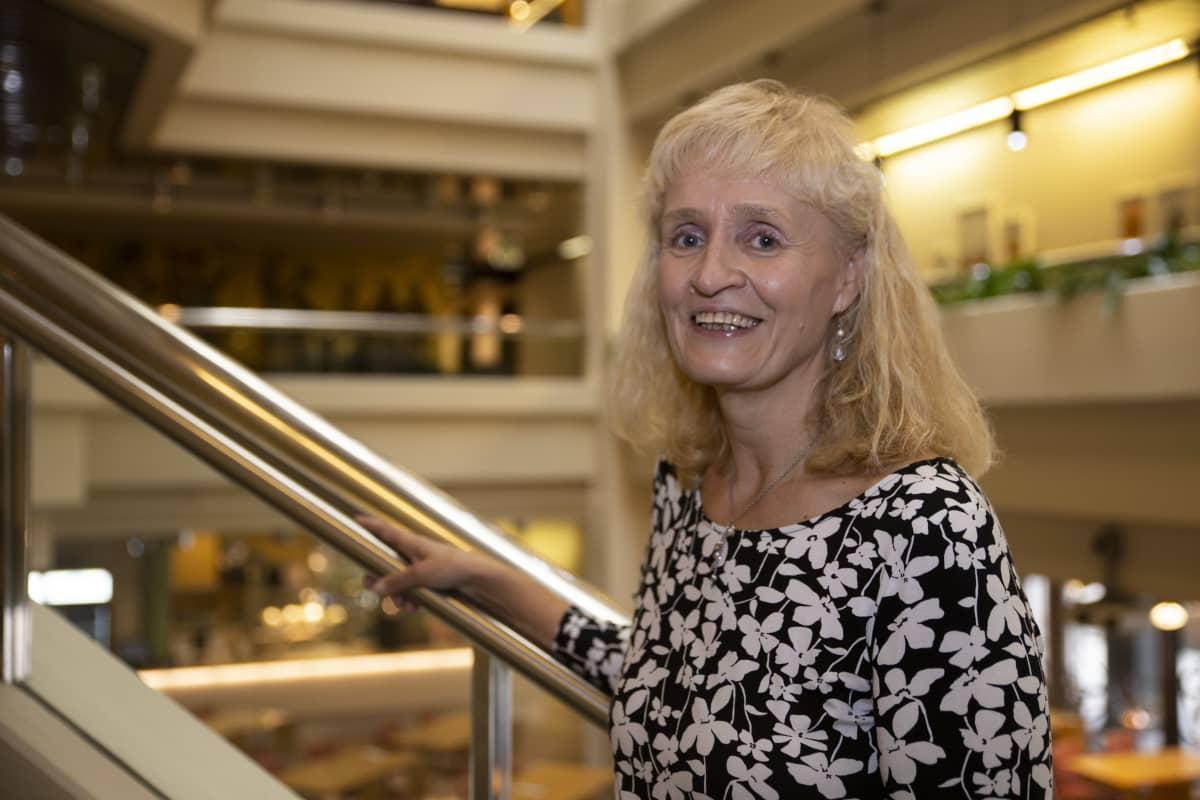 Marianne Pekola-Sjöblom.
