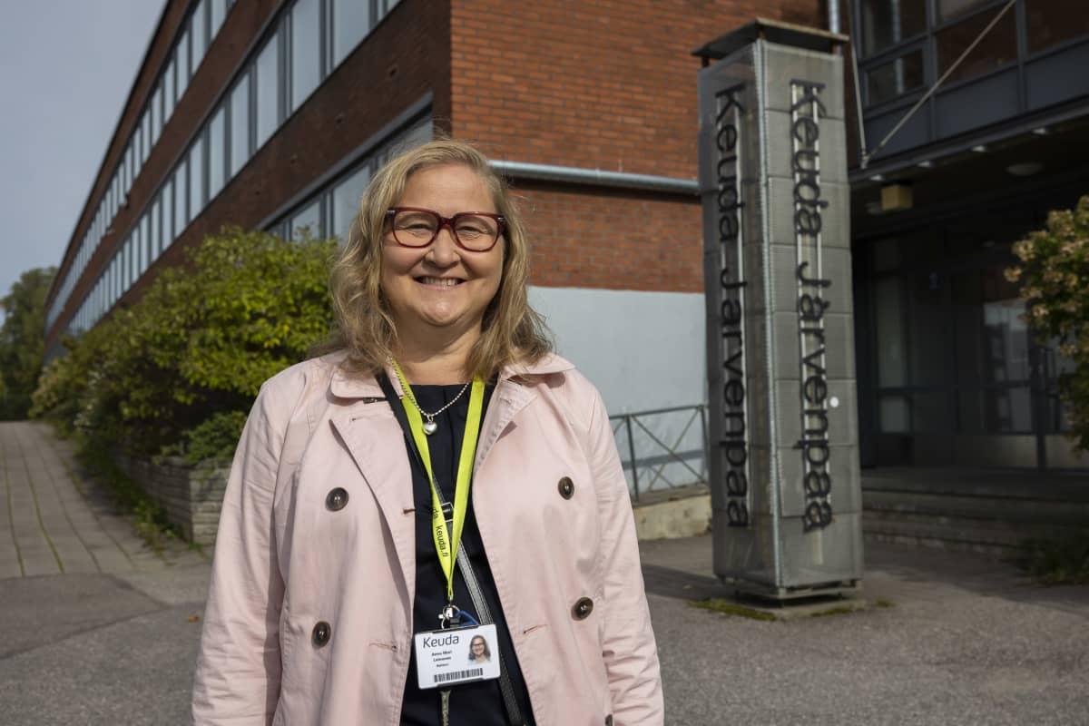 Rehtori,Anna Mari Leinonen
