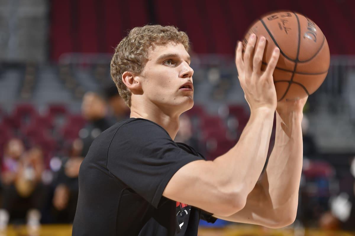 Lauri Markkanen on äskettäin aloittanut harjoitukset Clevelandissa.