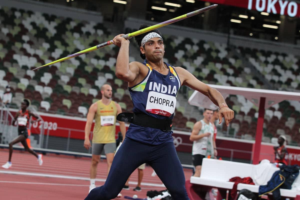 Neeraj Chopra voitti keihään olympiakultaa Tokiossa