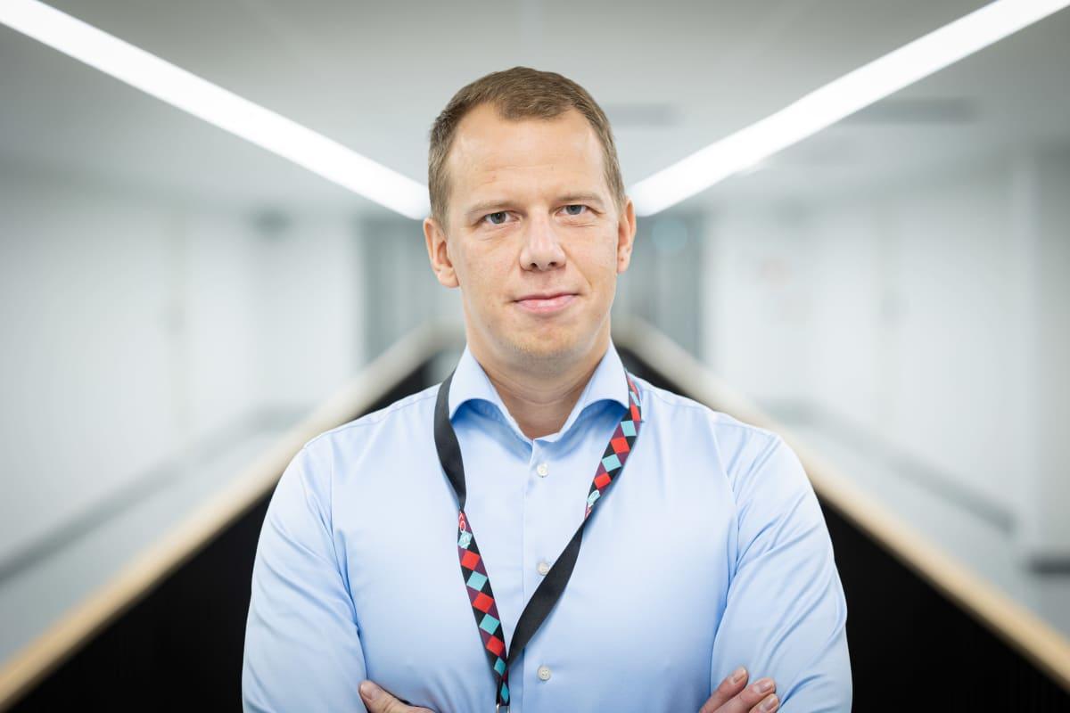 Mikkelin kansallisarkiston kehittämispäällikkö Mikko Eräkaski.