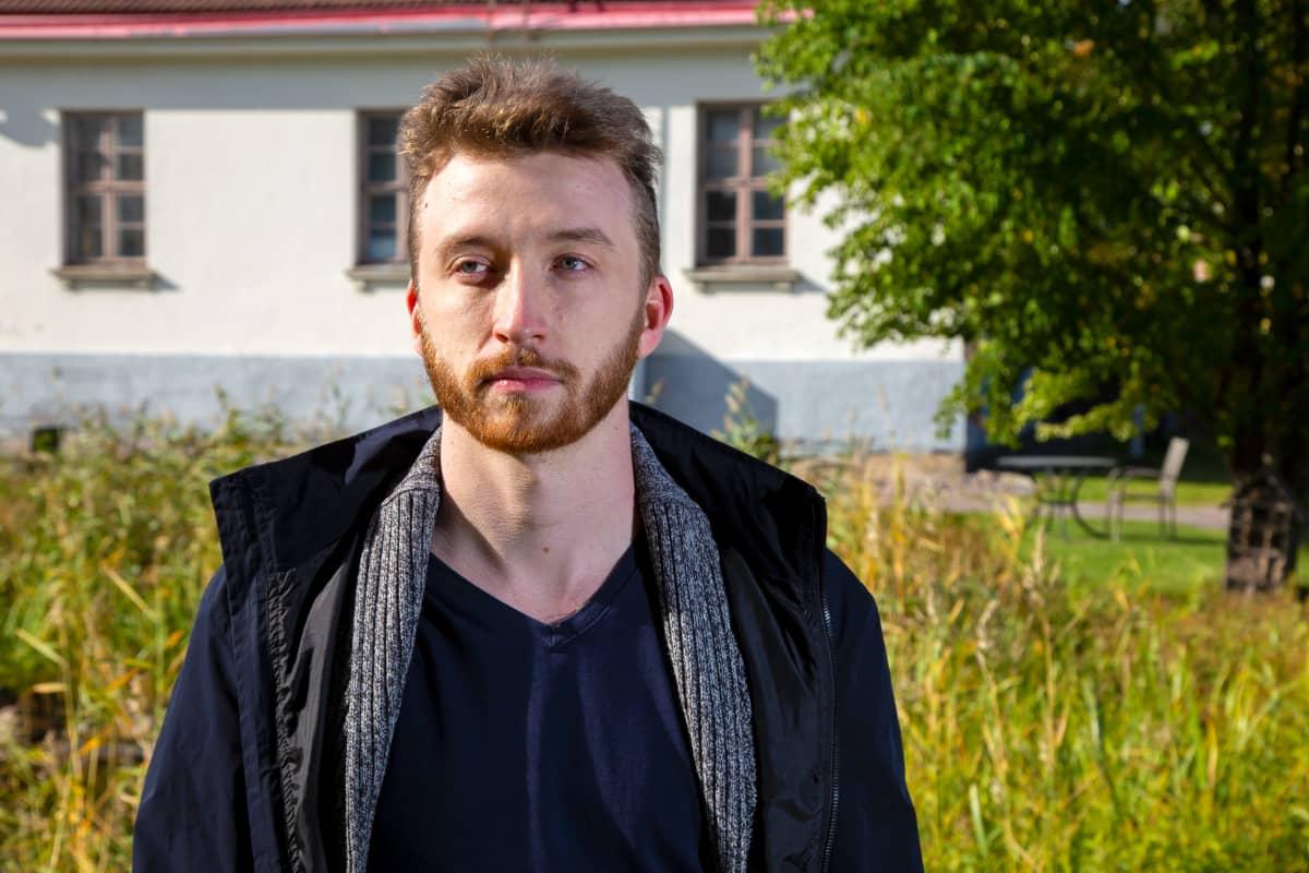 Coel Thomas, Helsingin Vihreiden varapuheenjohtaja ja varavaltuutettu.