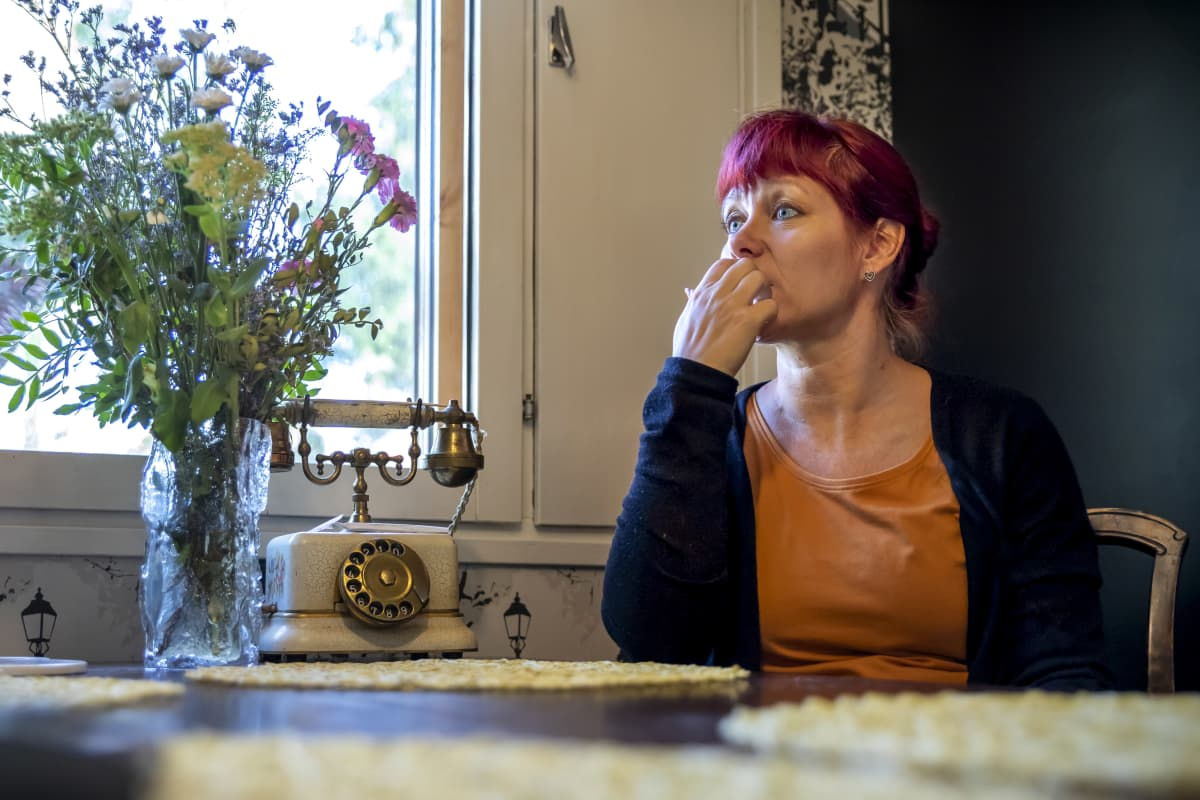 Kemin kotihoidon lähihoitaja Sanna Heikka