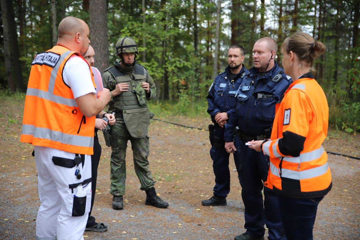 Paikallispuolustusharjoitus Hämeenlinnassa