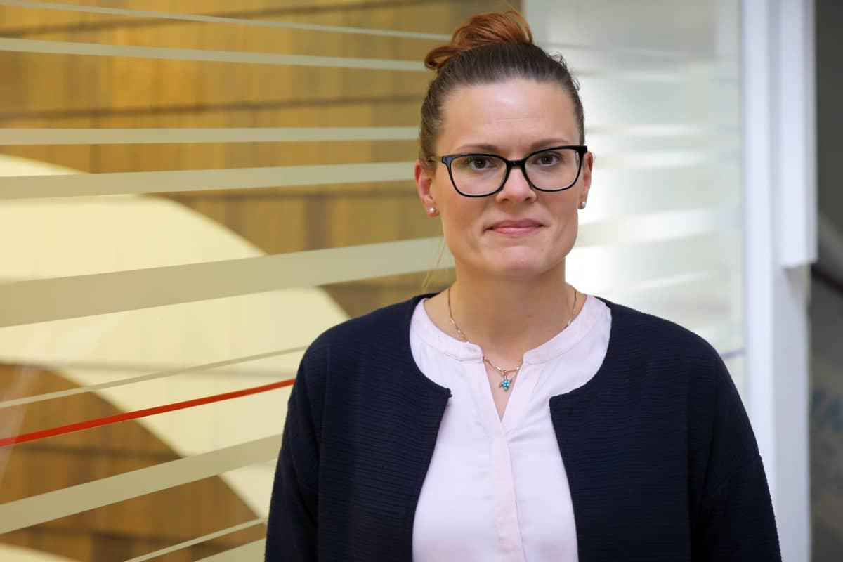 Maanmittauslaitoksen kirjaamispäällikkö Saija Korhonen.