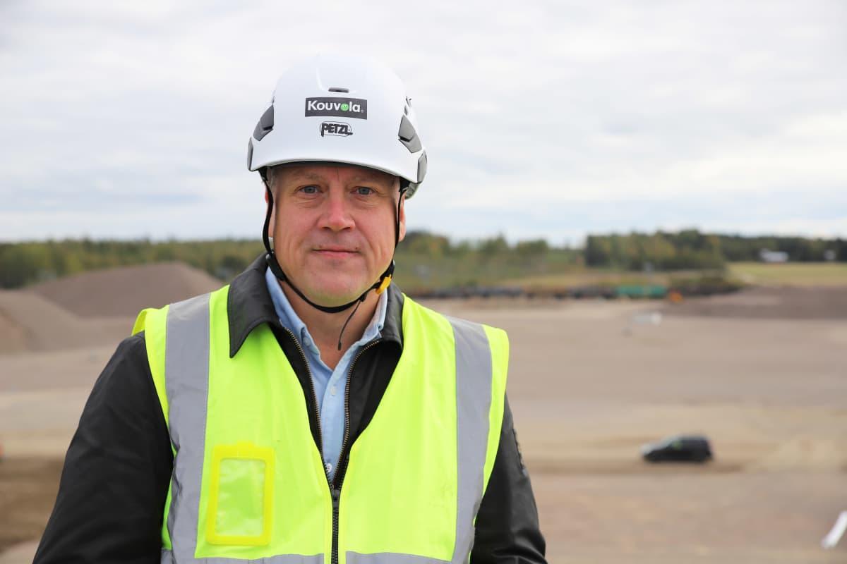 Kouvolan kaupungin projektipäällikkö Tero Valtonen.