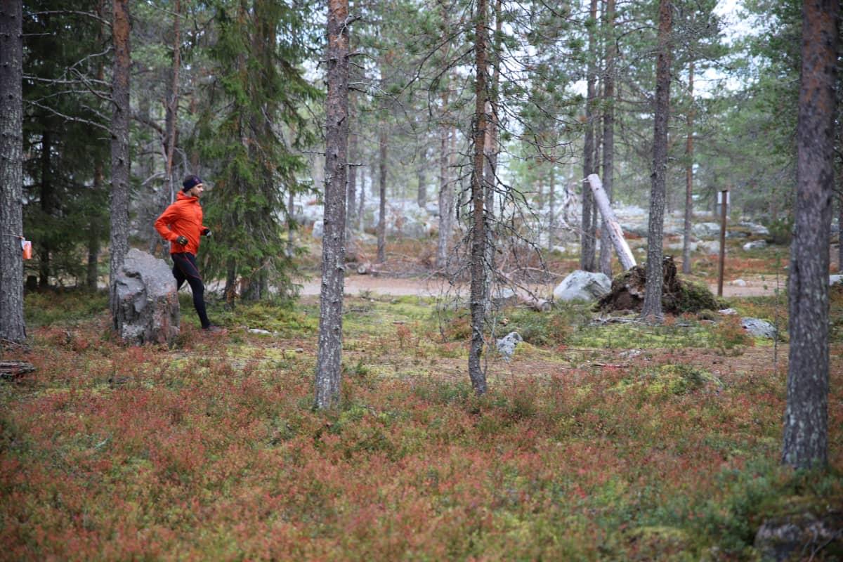 Antti Itkonen viihtyy luonnossa
