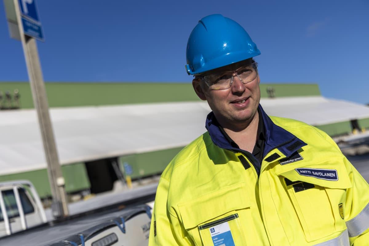 Antti Savolainen, kaivoksenjohtaja, Yara Siilinjärvi