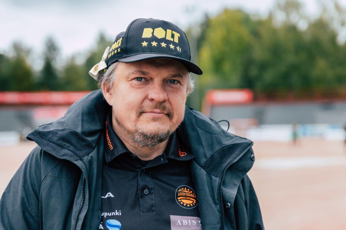 """Jussi """"Nalle"""" Viljanen."""