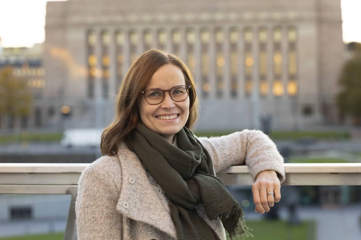 Heidi Haapala.