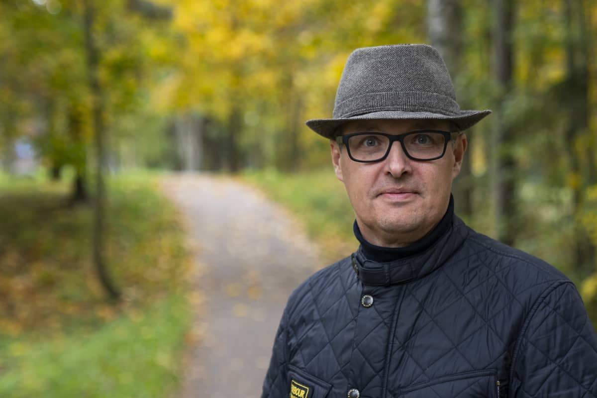 henkilökuva - kuvassa Jukka Manner, Netradar Oy:n teknologiajohtaja