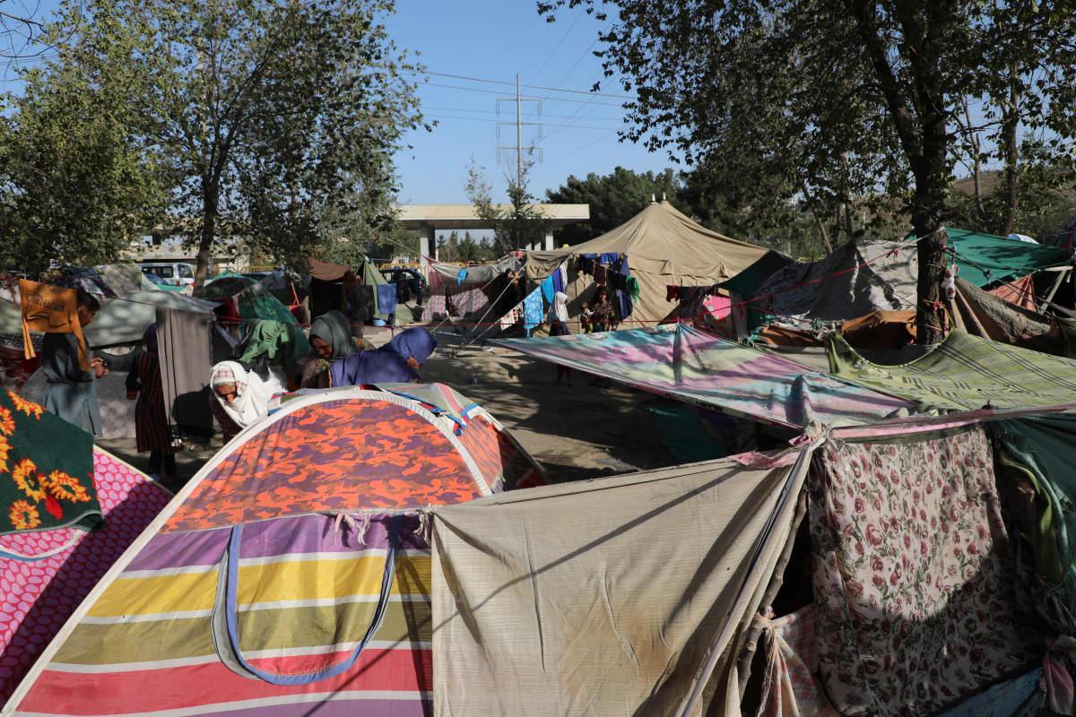 Telttaleiri Kabulissa