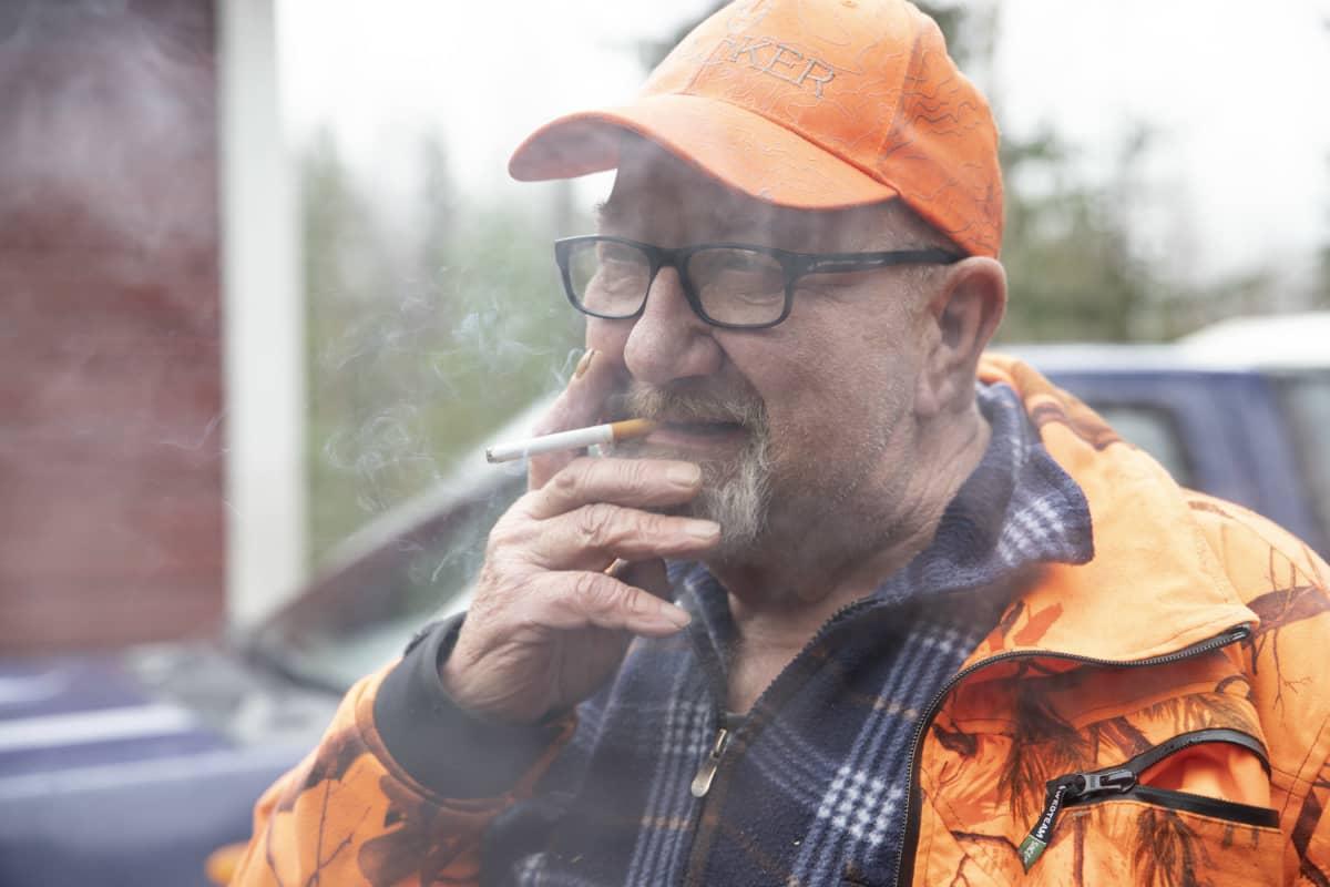Kiuruvetisen metsästysseura Aittokorven riistaukkonen Ilmari Humaloja