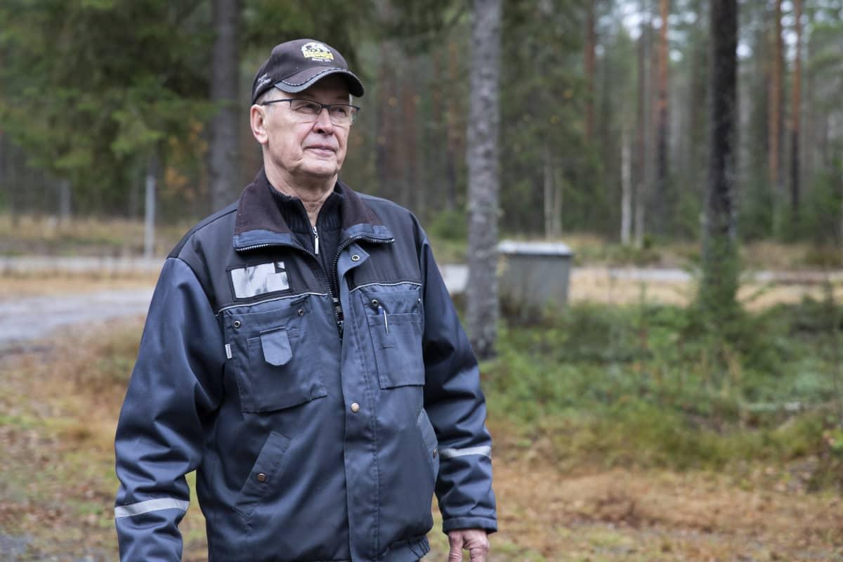 Metsästysseura Aittokorven riistaukkojen Leo Nousiainen