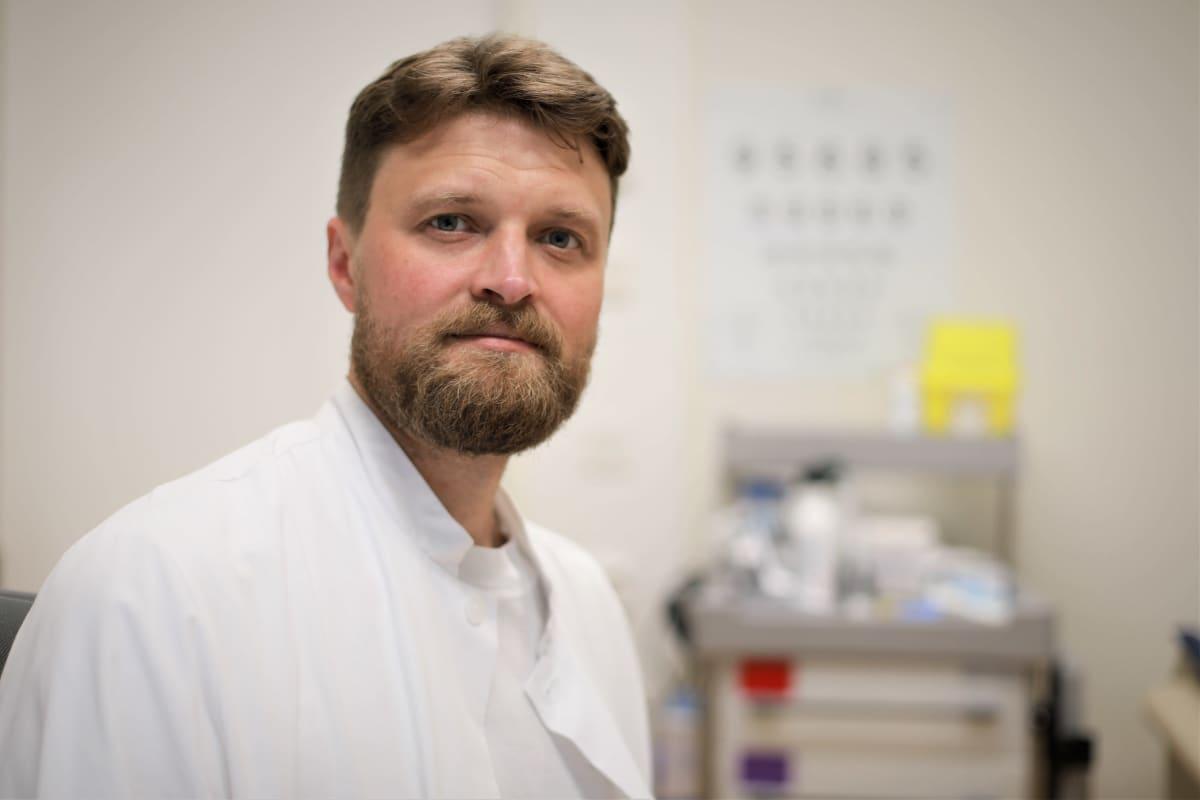 terveyskeskuslääkäri Antti Lintunen