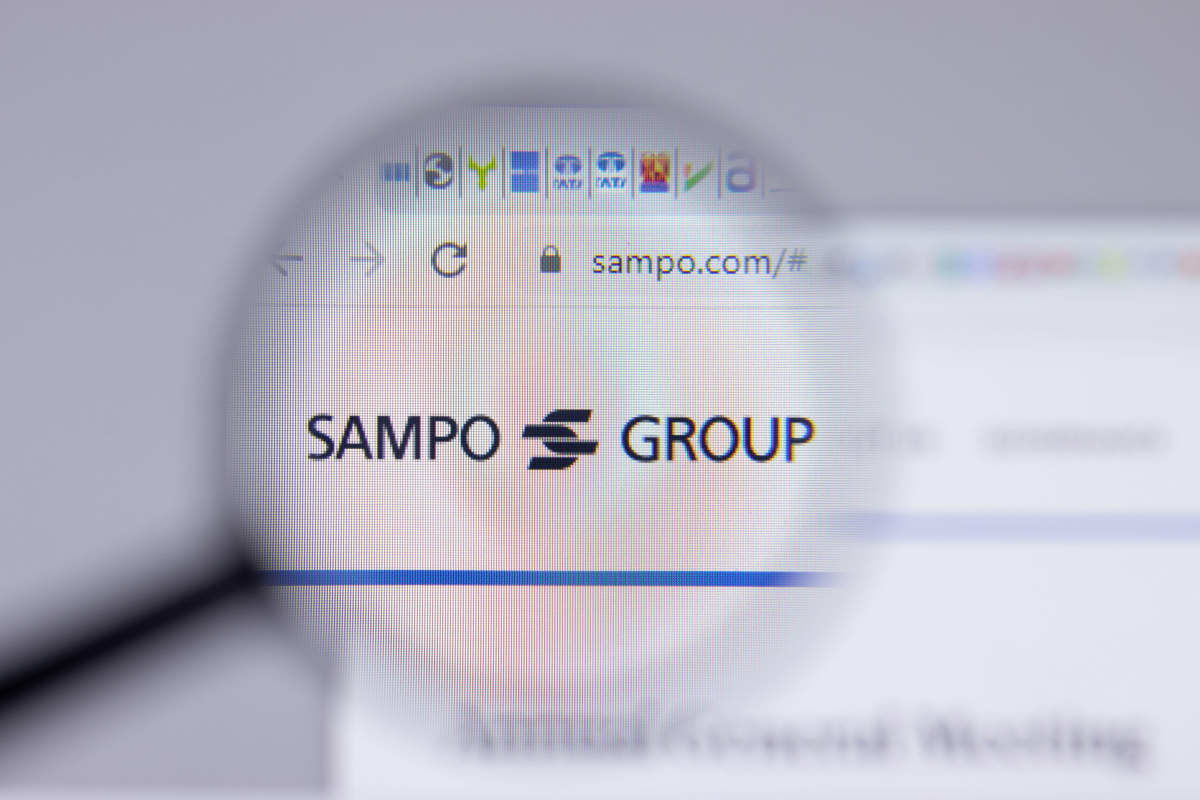 Sampo-konsernin logo.