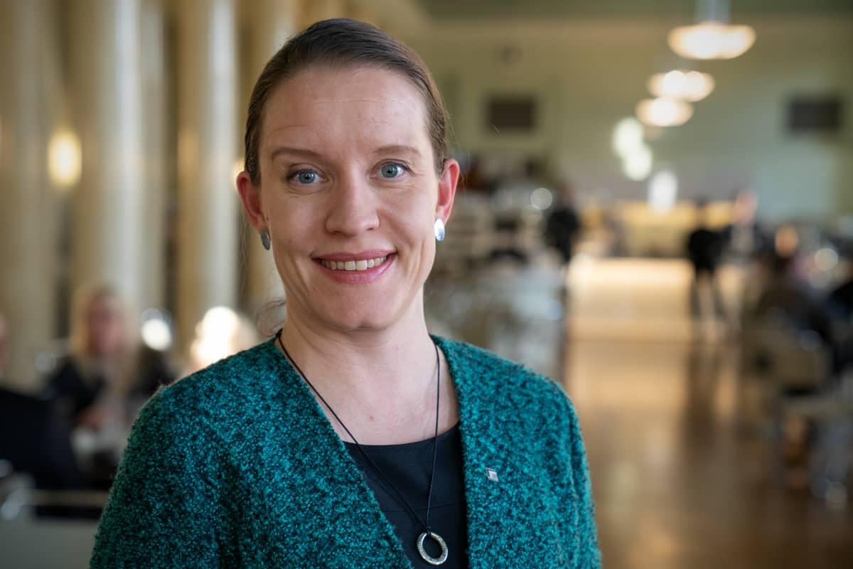 Potrettikuvassa, Mirka Soinikoski, kansanedustaja, vihreät