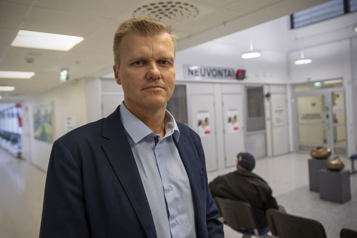 Lapuan kaupunginhallituksen puheenjohtaja Panu Lahdensuo