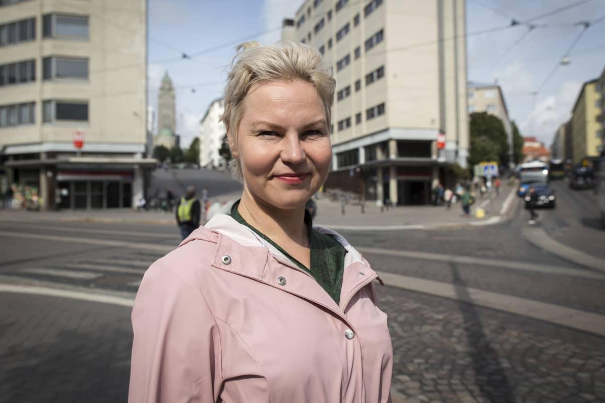 Henna Helander Suomen Arkkitehtiliiton puheenjohtaja