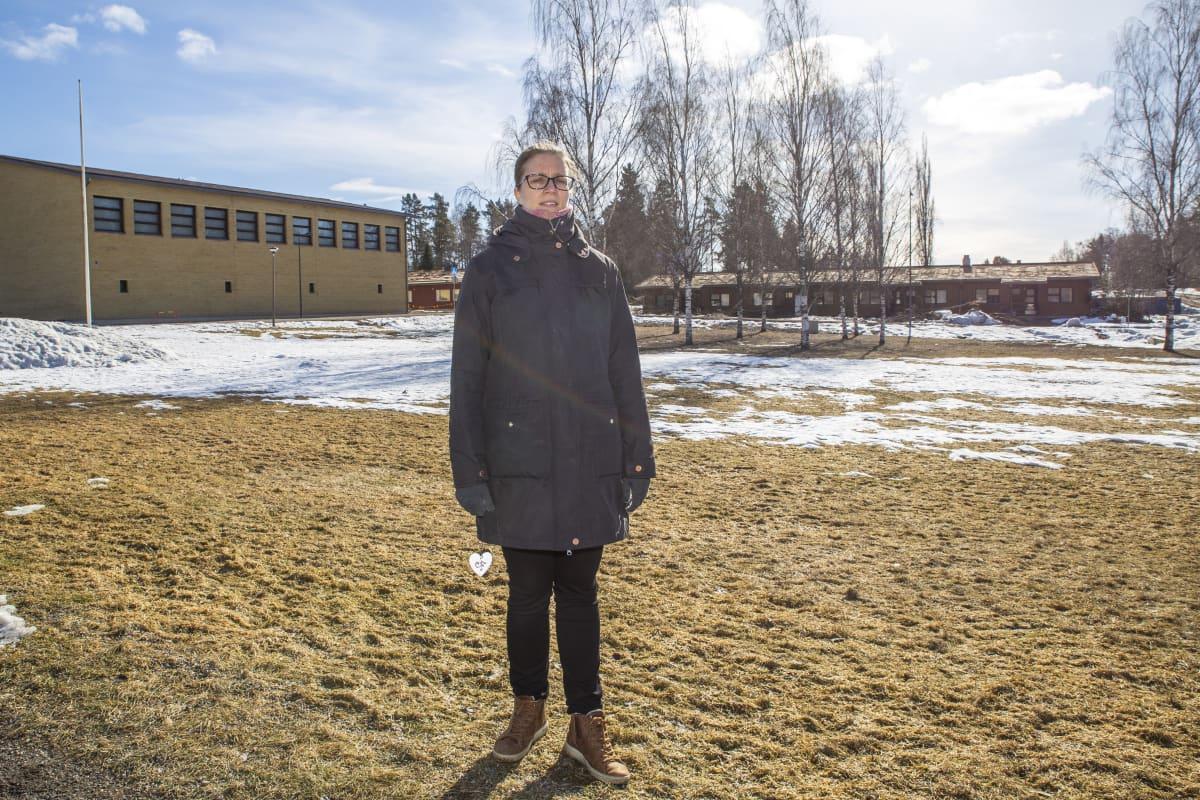 Kristillisen vanhusten asumisyhdistyksen Laihon sihteeri Hanna-Leena Forsman