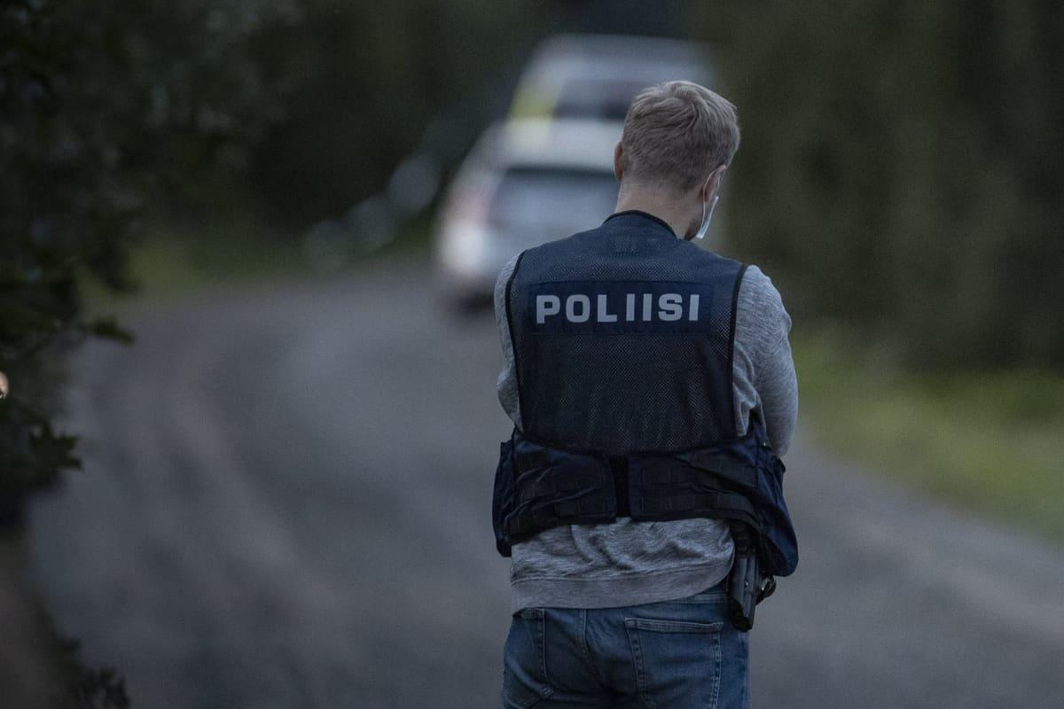 Varsinais-Suomessa Vahdolla Ruskon kunnassa on ammuttu poliisia kotihälytystehtävän yhteydessä maanantaina 23. elokuuta 2021.