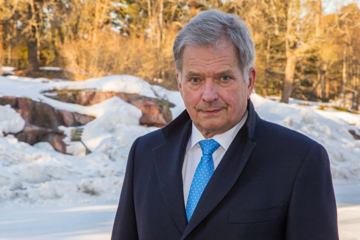 Henkilökuvassa, Suomen tasavallan presidentti, Sauli Niinistö