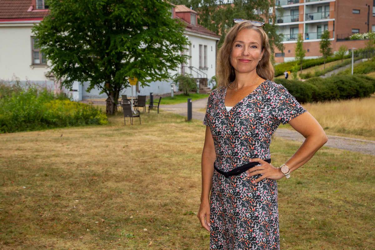 Henkilökuvassa, Katarina Nyman, elokuvalevityksen johtaja, Nordisk Film