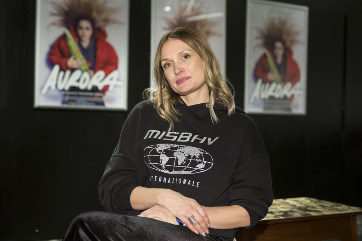 Miia Tervo , ohjaaja Aurora elokuvan infossa