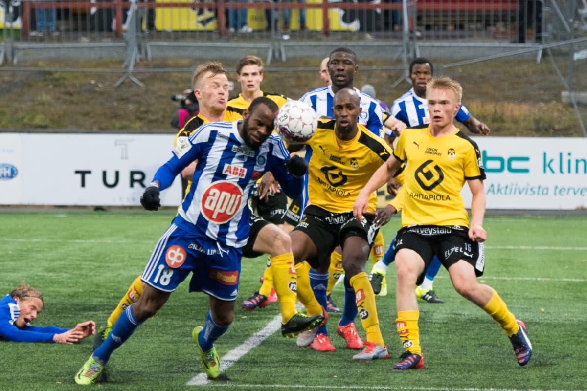 KuPS-spelaren Ilmari Niskanen har enorm potential.