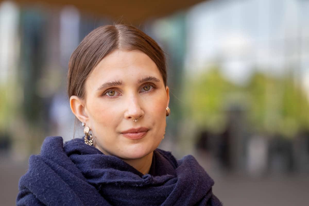Katariina Pärnänen tohtorikoulutettava Helsingin Yliopistolta.