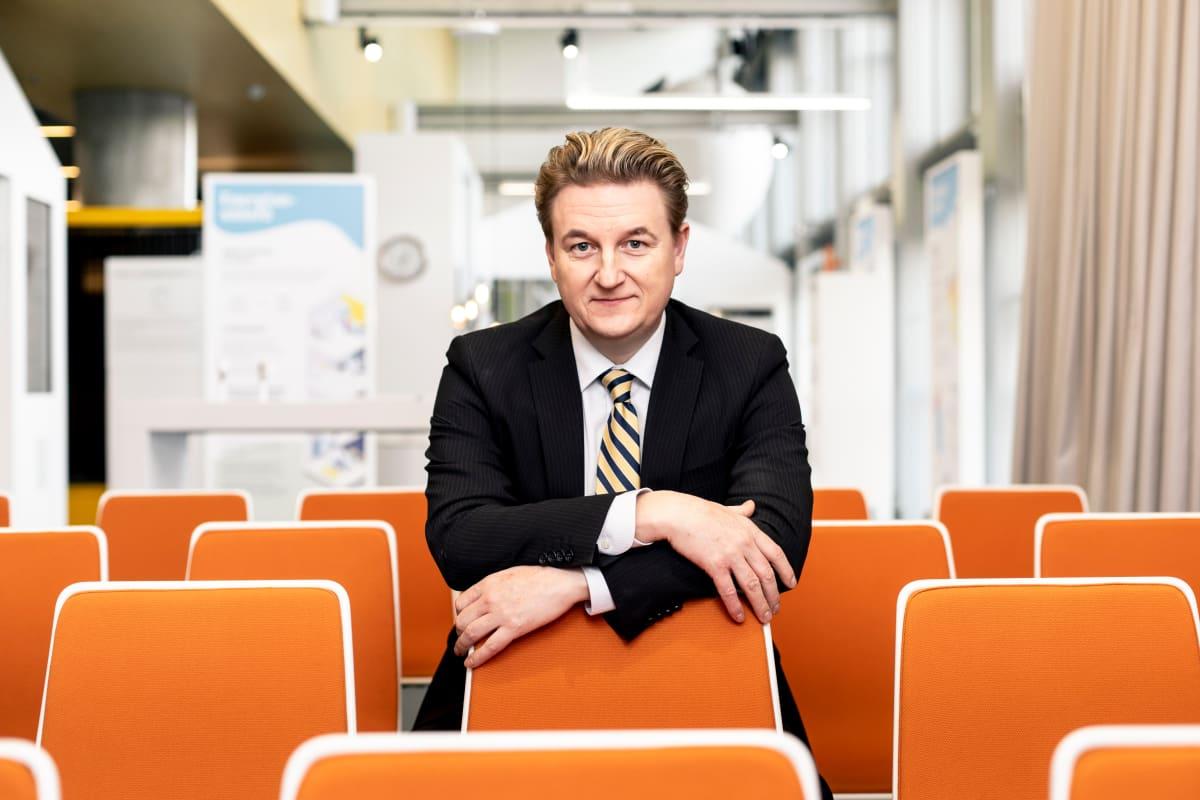 Juha-Pekka Weckström, toimitusjohtaja, Helen