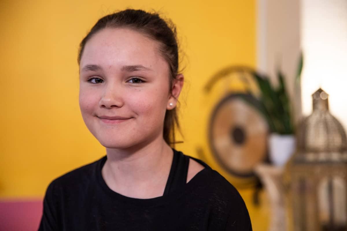 Ida Laiho, 14-vuotias